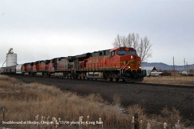 Southbound at Henley, Oregon